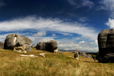 The Elephant Rocks near Duntroon in North Otago