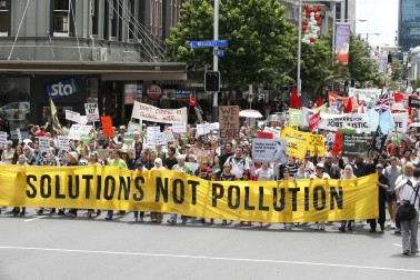 Auckland climate march