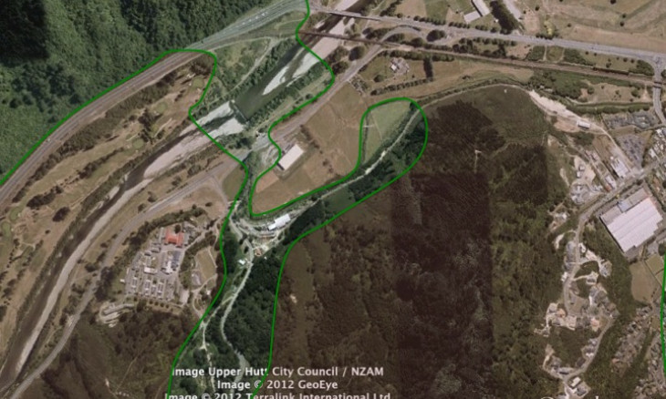 Eco-corridor across Hutt Valley