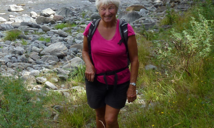 2020 Old Blue Liz Carter out and about in nature